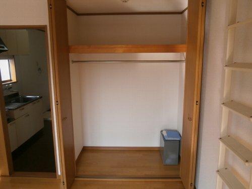 ファーストステージ 201号室の収納