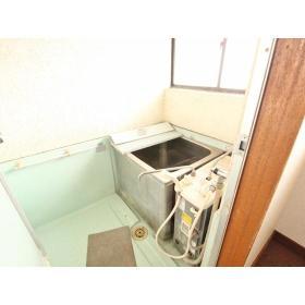 山口ハイツ 203号室の風呂