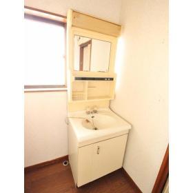 山口ハイツ 203号室の洗面所