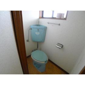 山口ハイツ 203号室のトイレ