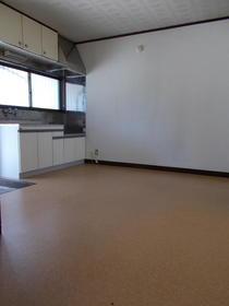 大清ハイツ 202号室のキッチン