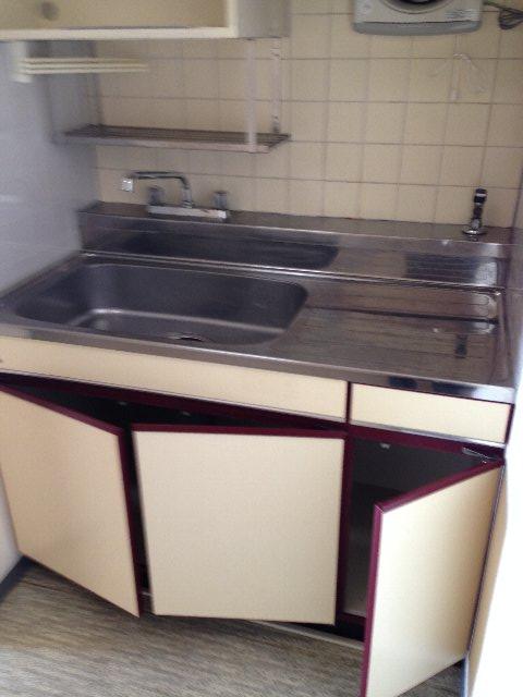 COOP5 302号室のキッチン