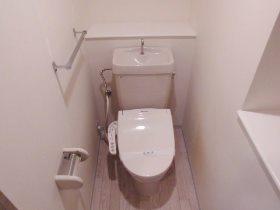 本牧パーク・ホームズ 203号室のトイレ