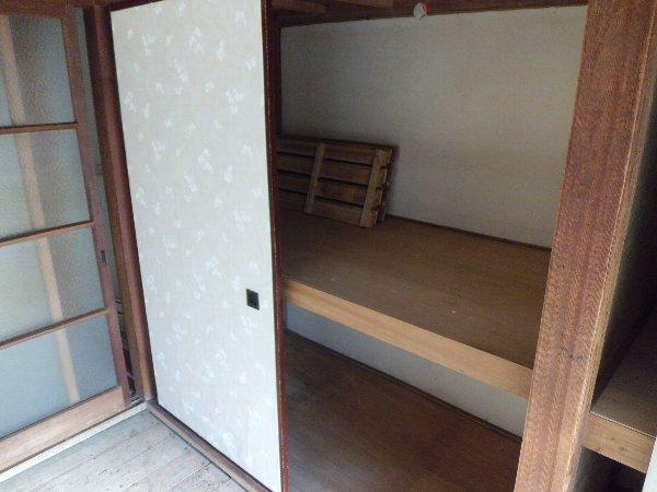 竹内アパート 1号室の収納
