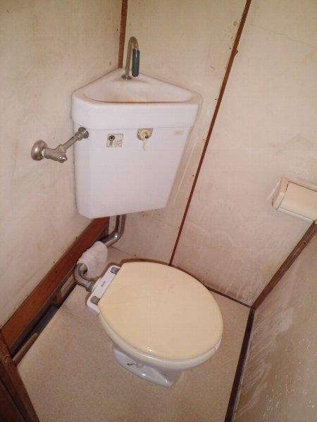 竹内アパート 1号室のトイレ
