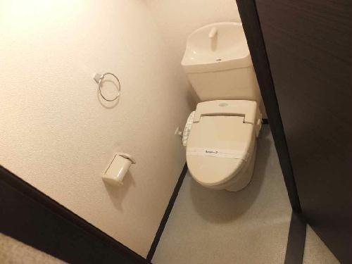 レオネクストレジーナⅢ 106号室のトイレ