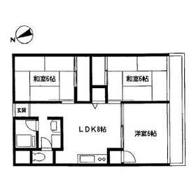 飯島第一ビル・305号室の間取り