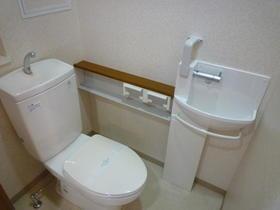 アイネスト 12 205号室のトイレ