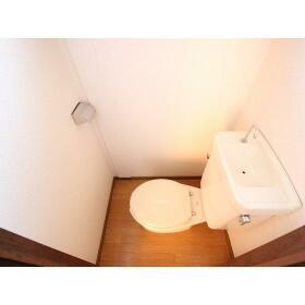 岸田ファミリーハイツ 101号室のトイレ