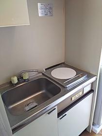 メゾンエレーズNo.2 202号室のキッチン
