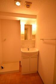 ドミールいぶき野 303号室の洗面所