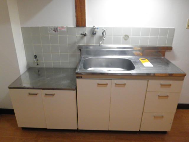 蔵王コーポ 205号室のキッチン