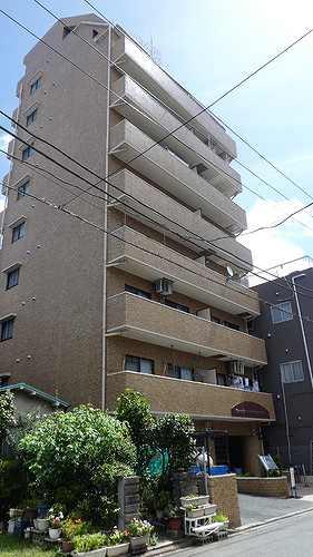 ライオンズマンション横浜第3の外観