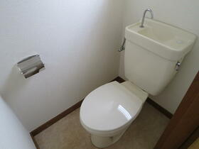 岡部邸のトイレ