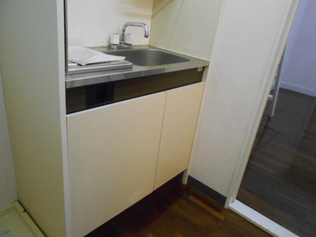 コーポ白鷺 102号室のキッチン