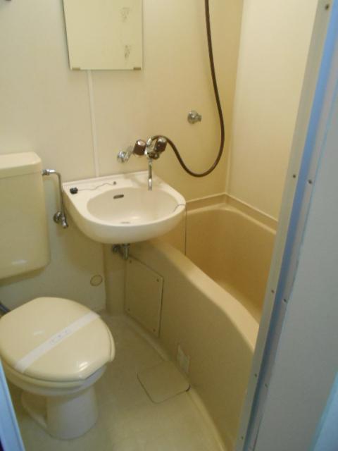 コーポ白鷺 102号室の風呂