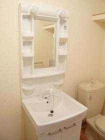 ポルタロッサ 204号室の洗面所