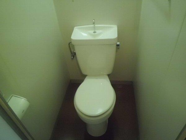 グリーンピア富岡Ⅰ 1305号室のトイレ