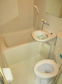 ジュネパレス座間第14 0201号室の風呂