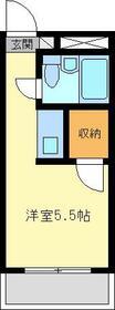 金沢八景相川ビル・301号室の間取り