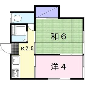 有宏荘・208号室の間取り