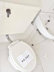ツインコート 203号室のトイレ