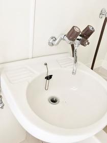 ツインコート 203号室の洗面所