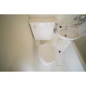 セザール第2鶴間 204号室のトイレ