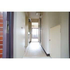 セザール第2鶴間 204号室の玄関