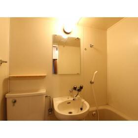 コーポヤザワ 103号室の洗面所