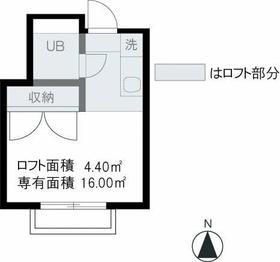 RARA桜ヶ丘No2・202号室の間取り