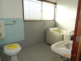 金子荘 201号室のトイレ