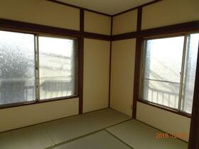 金子荘 201号室の景色