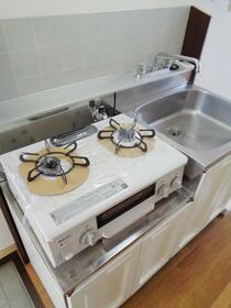 飯島ハイツ 103号室のキッチン