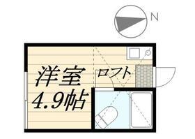 ピュアハウス藤棚三番館・0101号室の間取り