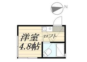 ピュアハウス藤棚三番館・0106号室の間取り