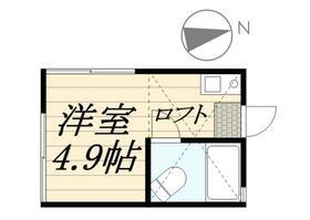 ピュアハウス藤棚三番館・0201号室の間取り