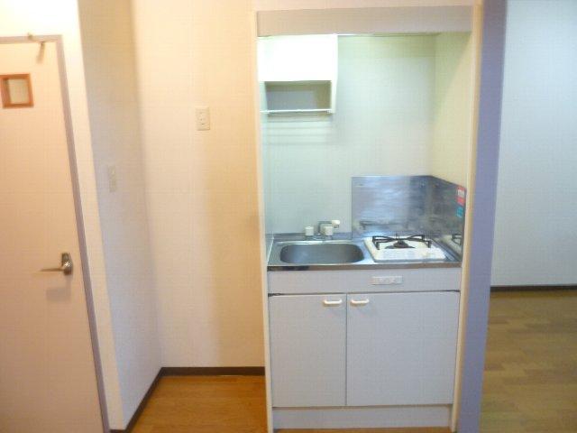 グランディール アオキ 202号室のキッチン
