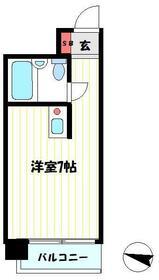 ライオンズマンション吉野町第11・204号室の間取り