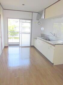 ひばり団地 19号室のキッチン