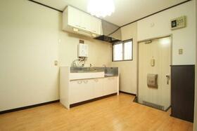 メゾン林 102号室のキッチン