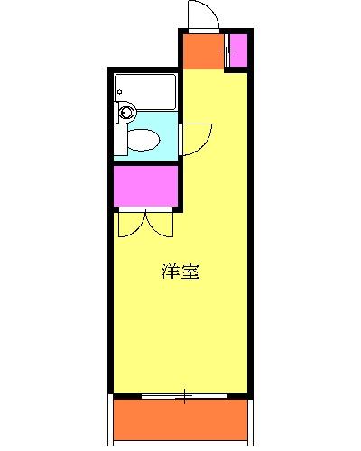 ヒルサイド洋光台Ⅰ 206号室の間取り