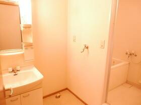 メゾンオルフェウス 201号室の洗面所