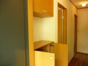 メゾンオルフェウス 201号室の玄関