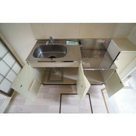 グリーンコーポ東林 102号室のキッチン