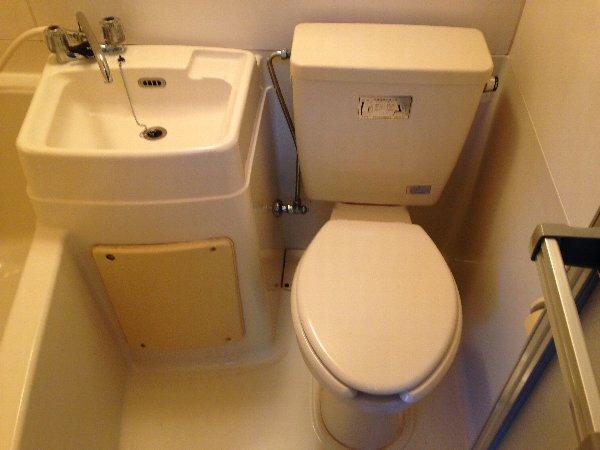 ハイツ志賀 101号室のトイレ