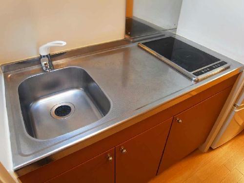 レオパレスハレ マレコ 206号室のキッチン