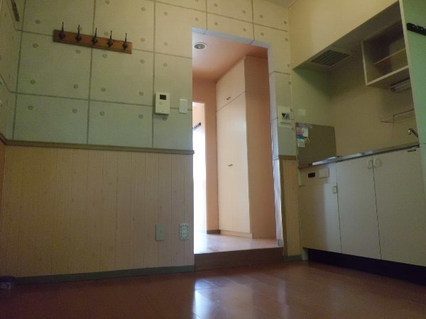プロバンス 112号室のベッドルーム