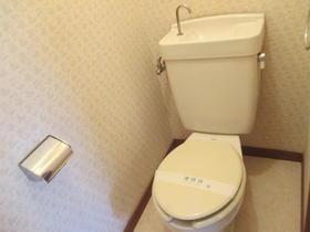 南林間ハウス B-203号室のトイレ