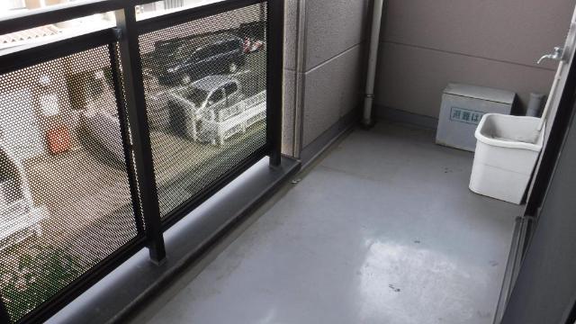 ビューテラス 203号室のバルコニー